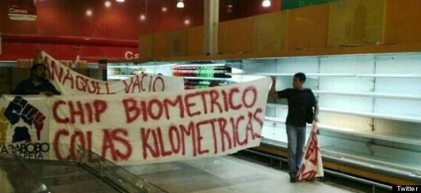 VENEZUELA: CRECE MALESTAR POR SISTEMA 'CAPTAHUELLAS'