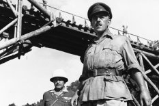 Scene from the film Bridge on the River Kwai | Pic: AP