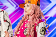 Kitten on the X Factor | Pic: Thames