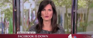 Facebook Down August News Bloopers