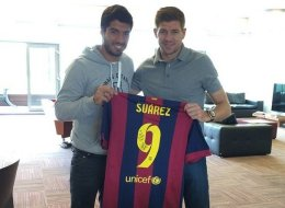 Suárez Returns To Liverpool... To Say Goodbye