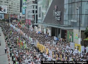 hong kong july 1st 2014