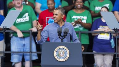 Obama Milwaukee