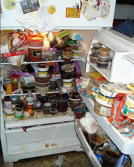 gross fridge