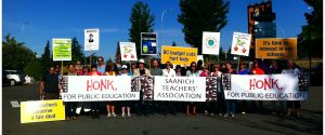 Bc Teachers Strike Saanich