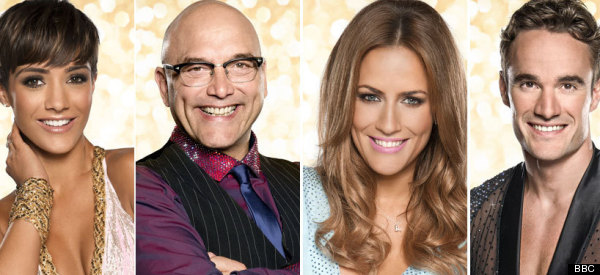 This Year's 'Strictly' Stars Get Their Sequins On