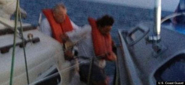 Couple Stranded On Sailboat For Week After Captain's Bold Move
