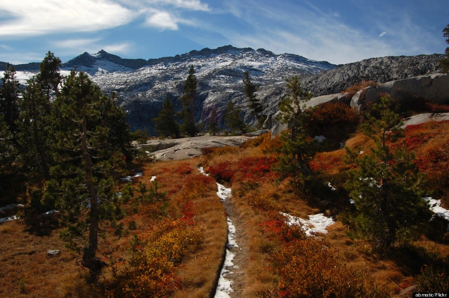 fall colors desolation wilderness