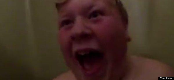 WATCH: Dad Pranks Son, Makes Him Scream Like A Hawk