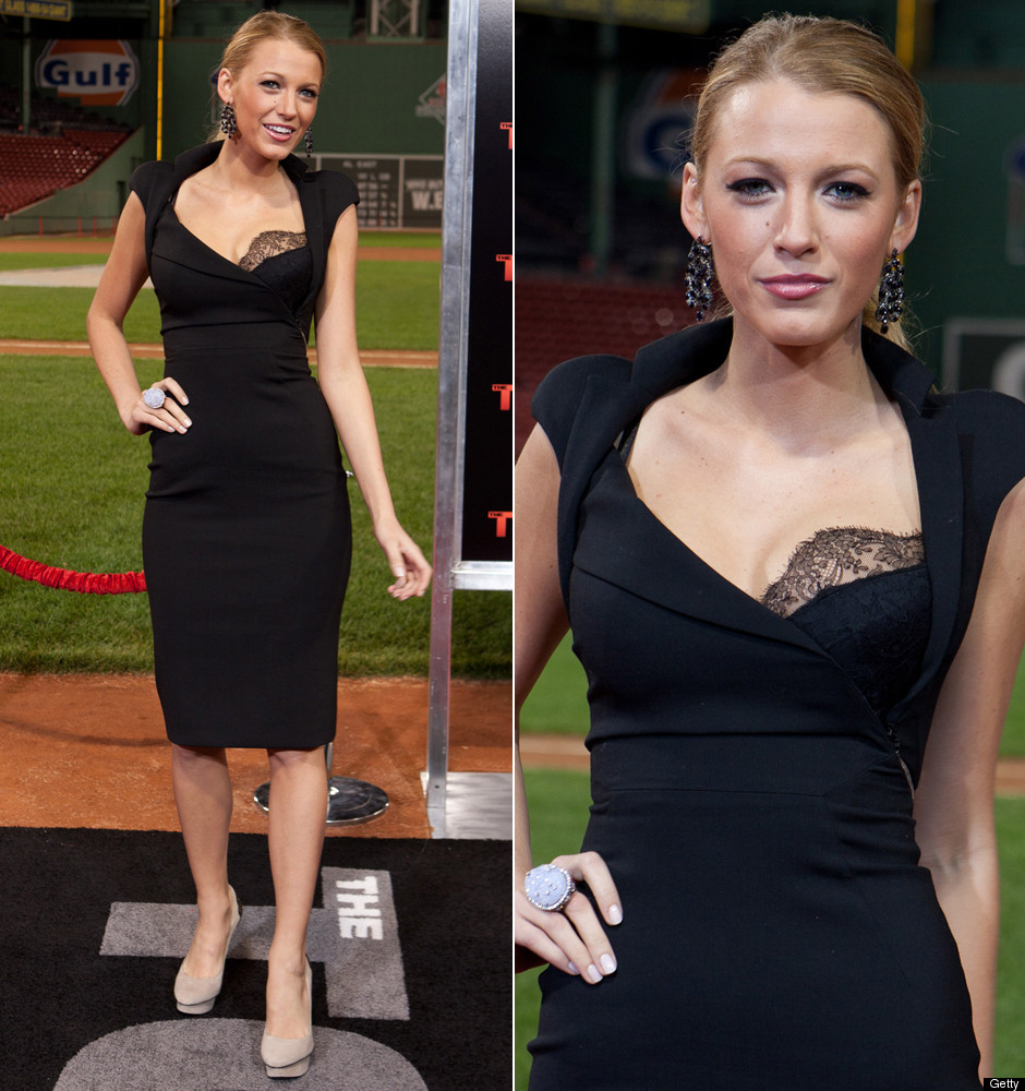 Blake Lively\'s Little Black Dress: Rad Or Bad? (PHOTOS, POLL) | HuffPost