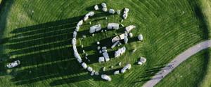 Aerial Stonehenge
