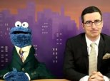 John Oliver And Cookie Monster Are Your New Favorite News Anchors