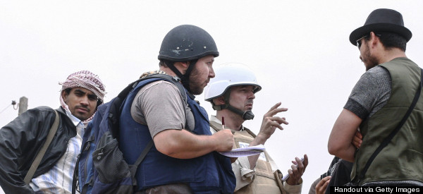 ISIS Release Video Purporting To Show Beheading Of US Reporter Steven Sotloff