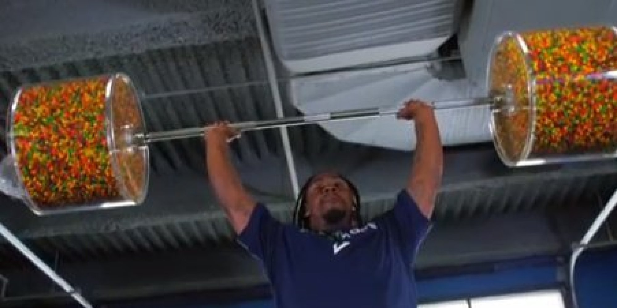 Marshawn Lynch Lifts Skittles In The Gym, Makes Working ...