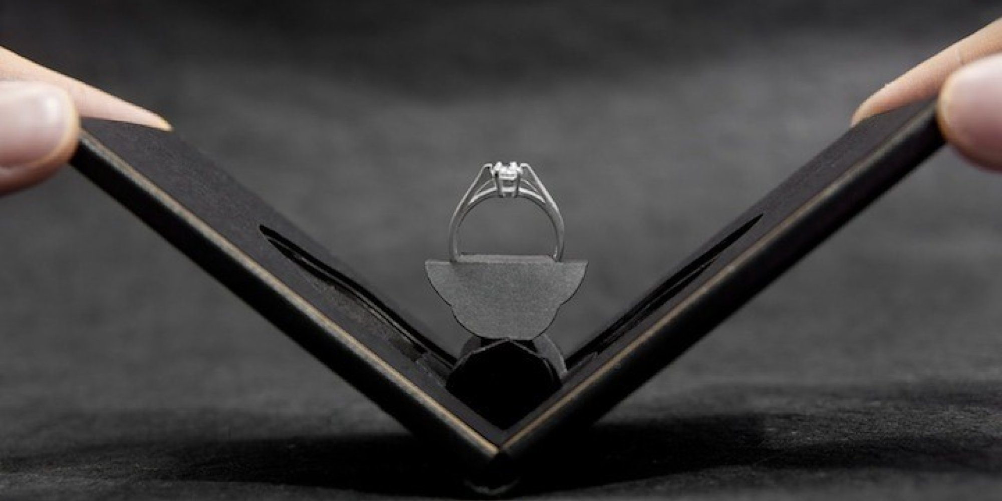 This Handydandy, Super Slim Engagement Ring Box Is A Game Changer   Huffpost