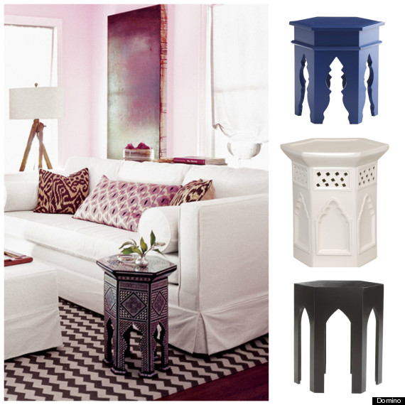 18 Side Tables That Will Bring Some Boho To Your Living Room HuffPost