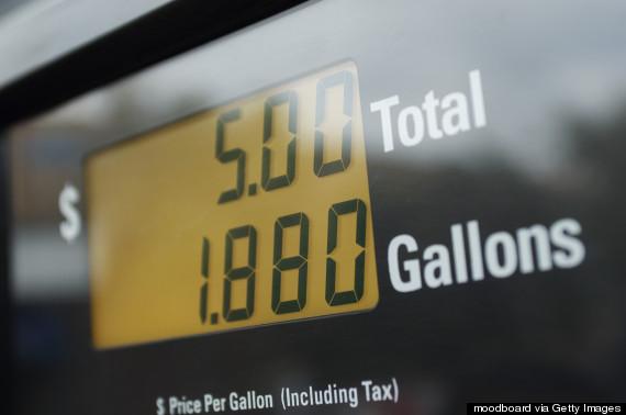gas pump cost