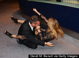 Who Took A Tumble At The GQ Awards?