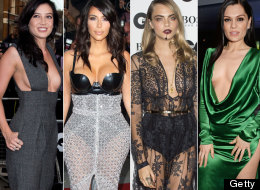 Kim K, Daisy, Cara And Jessie Turn The GQ Awards Into A Flesh-Off