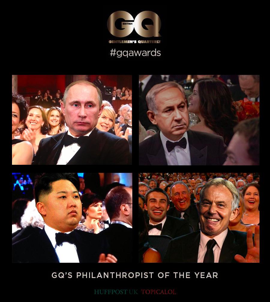 tony blair gq awards