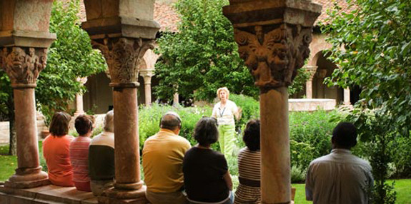 The cloisters events