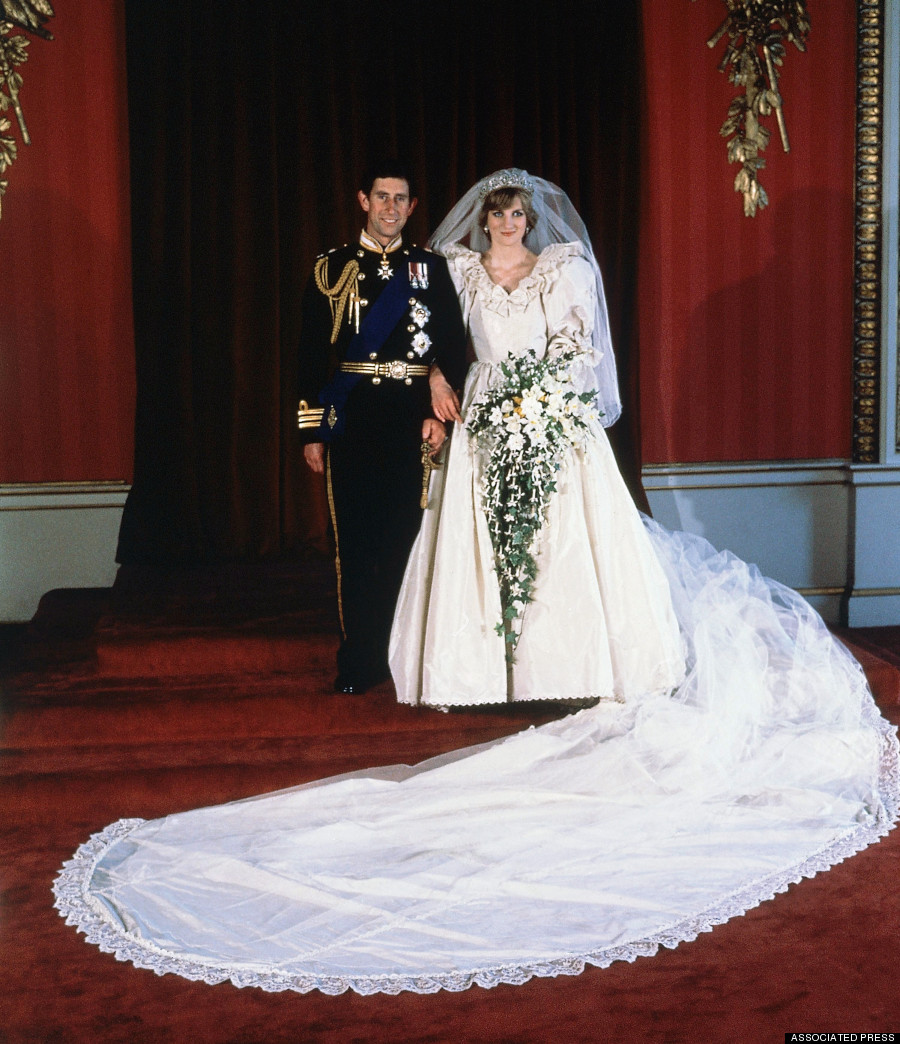 Princess Dianas Wedding Dress To Be Gifted To Prince William And Prince Harry