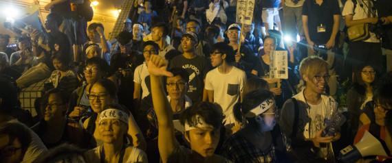 HONG KONG PROTESTS VOTE