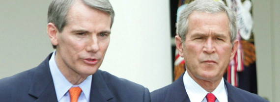 Rob Portman Senate Ohio Bush Budget