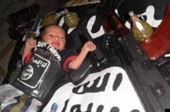 islamic state baby