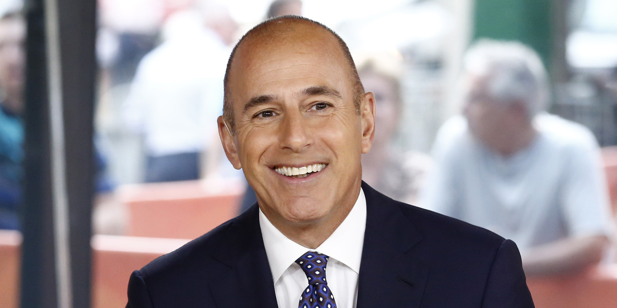 "Former NBC' ""The Today Show"" host Matt Lauer"