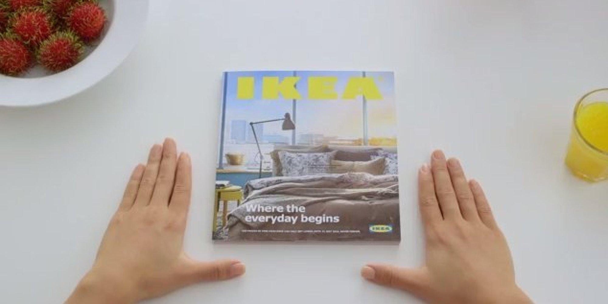 IKEAの広告がAppleのパロディになっていて革新的(動画)
