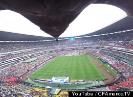 This Eagle Is About To Give You One Of The Best Soccer Stadium Views Ever