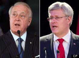 Mulroney Sounds Off On Harper's Supreme Court Spat