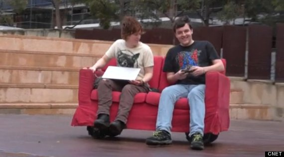robot couch