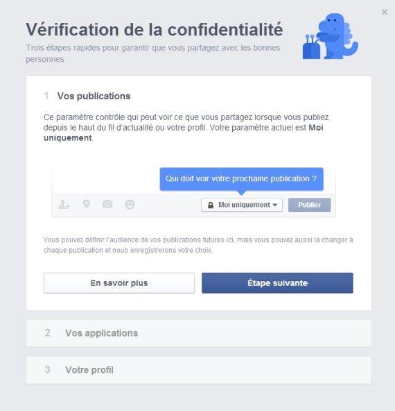 parametres de confidentialite facebook