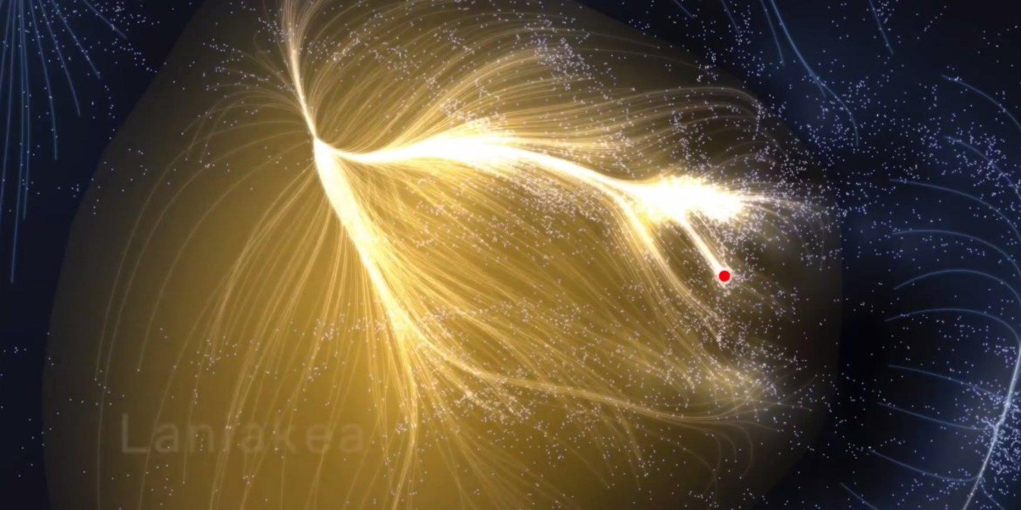 «Небесный дом» Млечного пути указывает карта сверхскопления галактик (2 фото+видео)