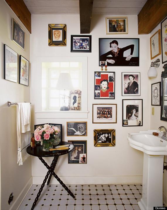 straighten your bathroom