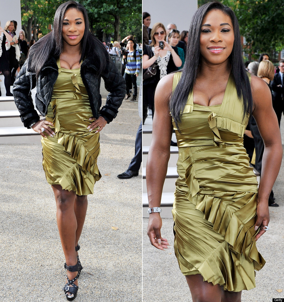 Serena Williams Hits London Fashion Week In Woven