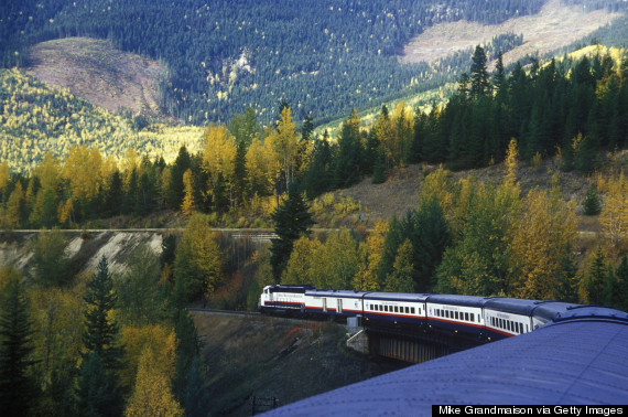 canada train vacations