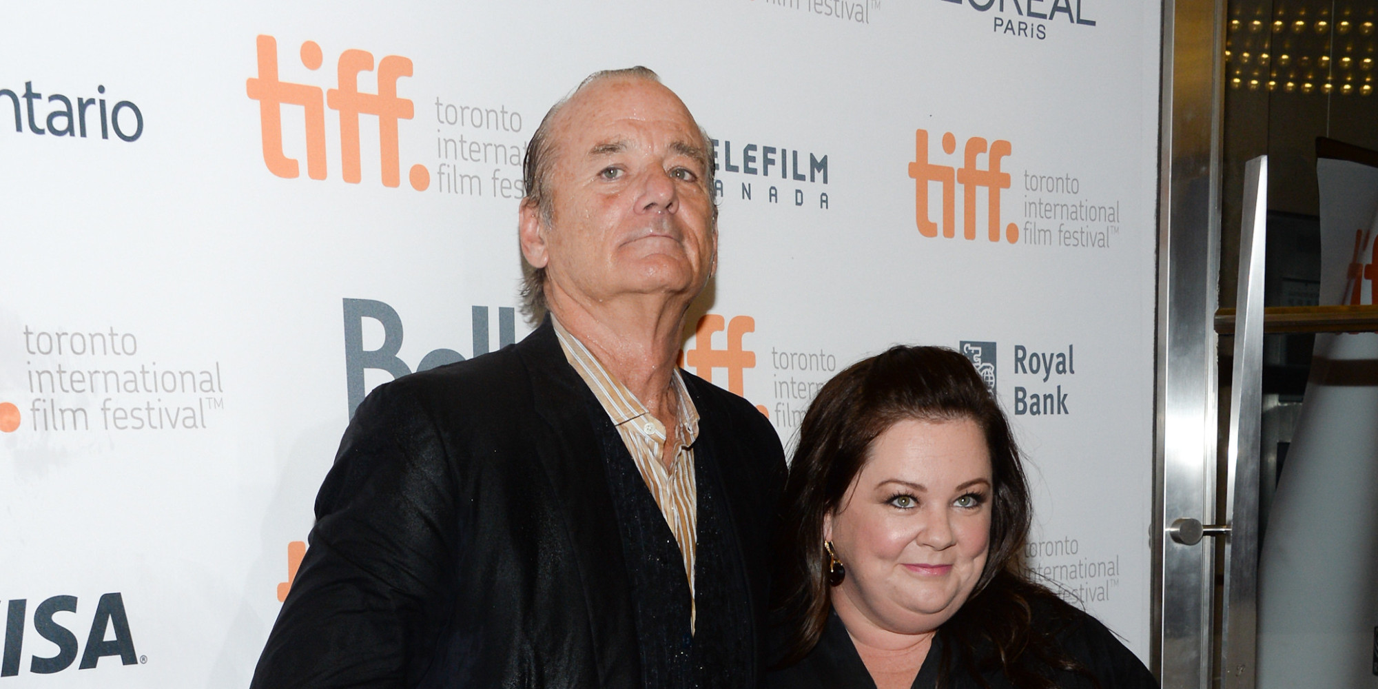Melissa McCarthy and bill murray