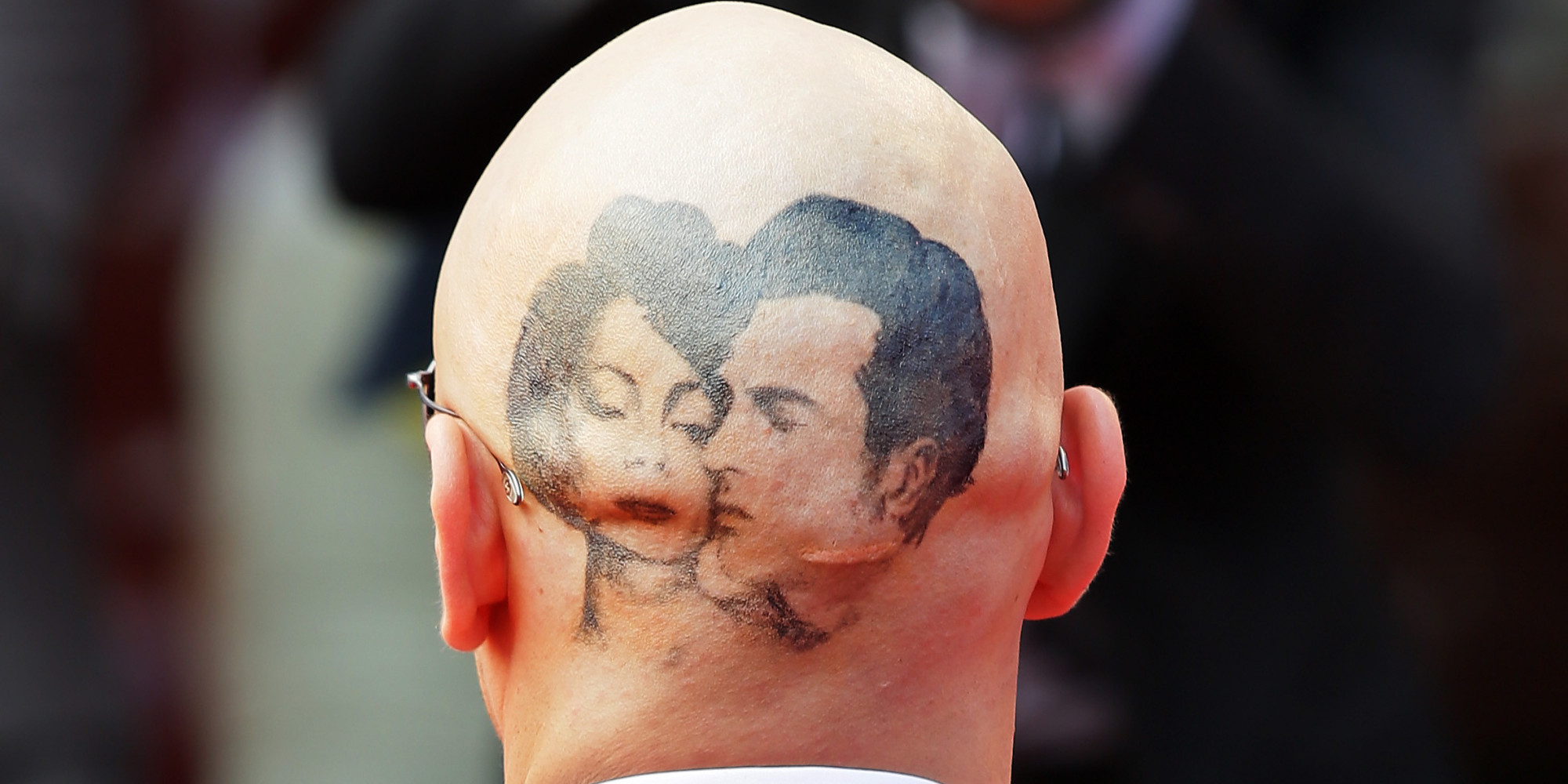 James franco head tattoo