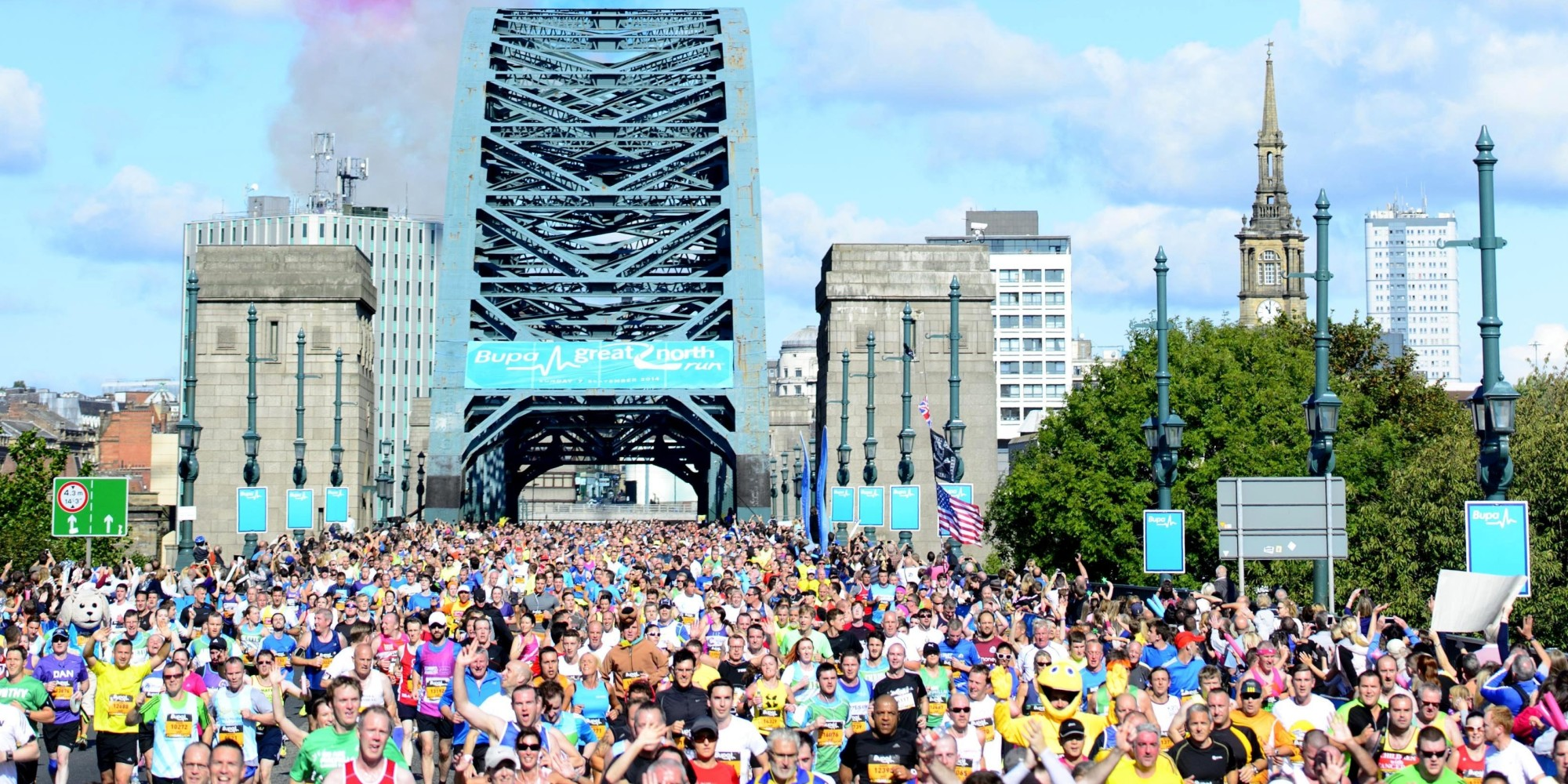 Great North Run 2014: Tens Of Thousands Cross Finish Line (PICTURES ...