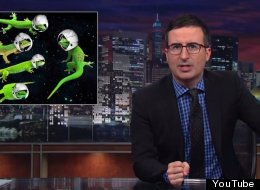 'We're All Going To Miss Those Horny Little F*** Lizards': John Oliver Pays Tribute To Russia's Sex Geckos