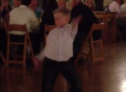 Little Kid's Dance Floor Moves Will Make Your Day -- Nay, Your Year