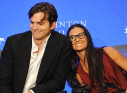 Ashton Demi Clinton Global Initiative