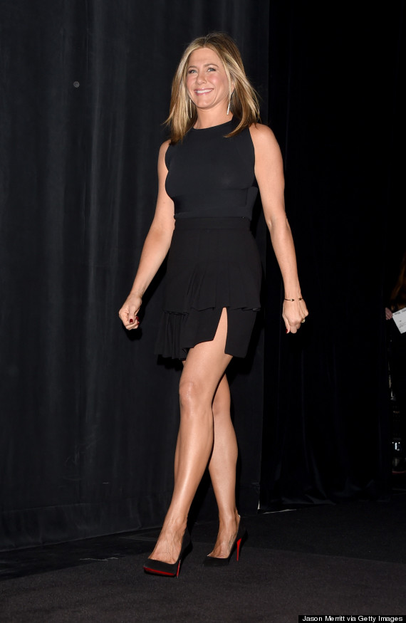 Jennifer Aniston's Little Black Dress Steals The Show At TIFF ...