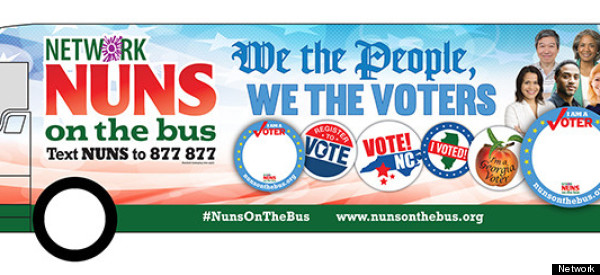 'Nuns On The Bus' Aren't Afraid To Take On The Koch Brothers