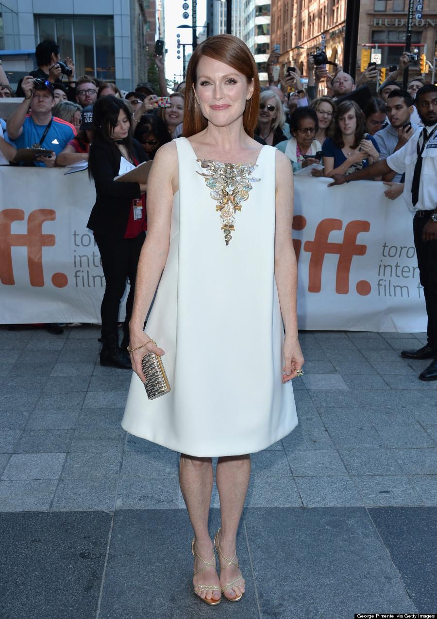 The dress is chanel - Julianne Moore