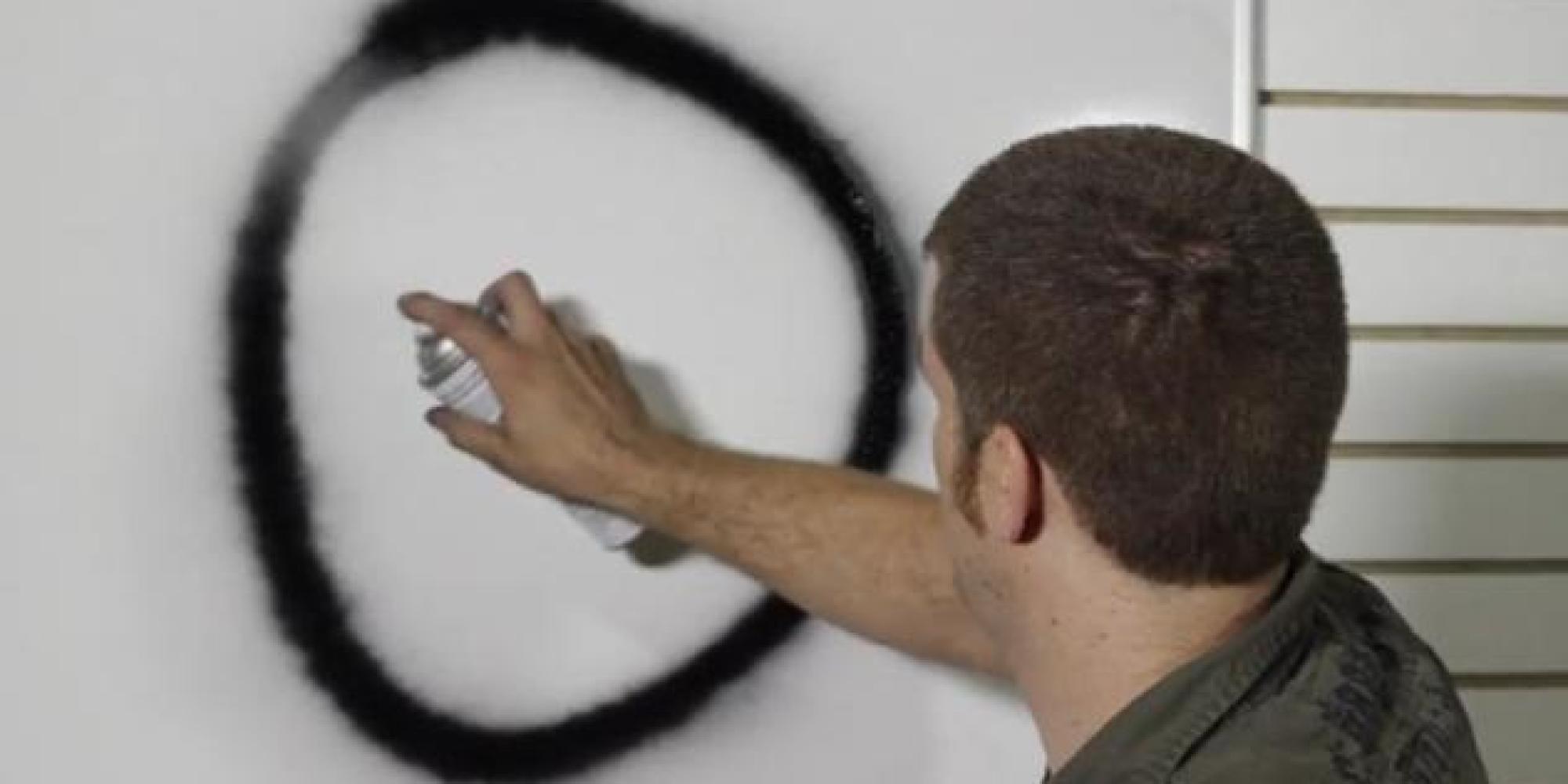 vid o le d e p spray une bombe de peinture effa able qui pourrait changer la vie des graffeurs. Black Bedroom Furniture Sets. Home Design Ideas