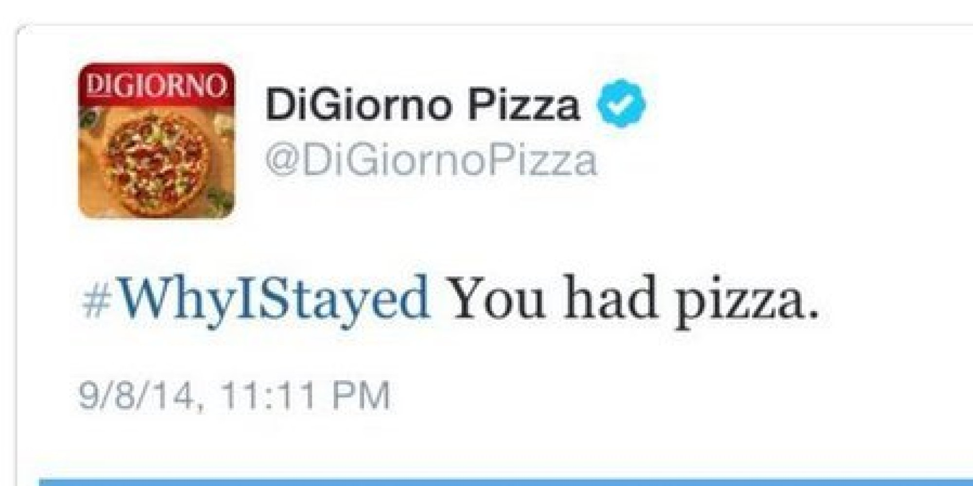 Image result for why I stayed digiorno pizza